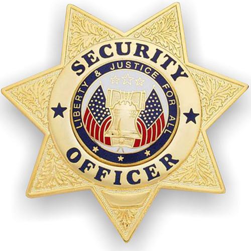 Security Officer 7-Point Star Badge-FireStoreOnline