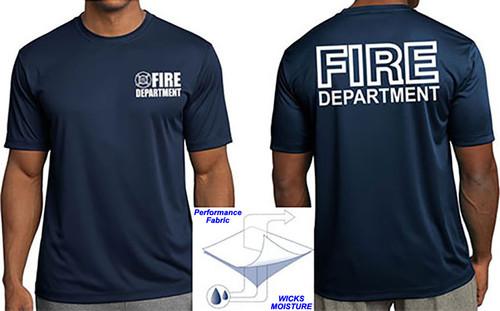 Fire Department Wicking Performance T-Shirt