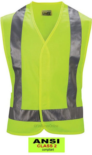 Traffic Safety Vest (ANSI Class 2) by the Force