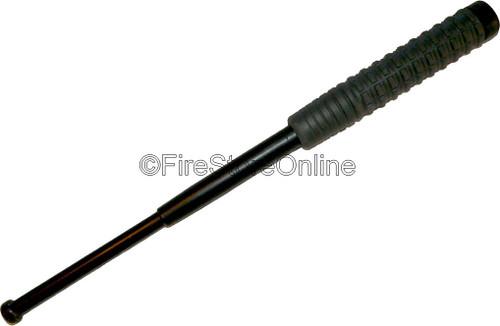 "21"" Collapsible Baton w/ Hard Case - BLACK FINISH (MADE IN EUROPE)"