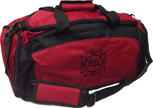 Firefighter Red Logo Duffel / Gym Bag