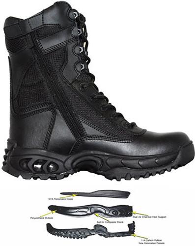 Ridge Air-Tac PLUS Side-Zipper Duty Boot - SIZE 12R MEN/ 13.5 WOMEN [35% OFF]
