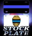 LICENSE PLATES - STOCK