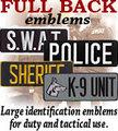 FULL BACK emblems