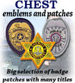 CHEST emblems and patches