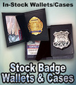 Stock Badge Wallets & Cases