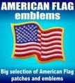 AMERICAN FLAG emblems