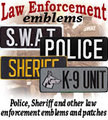 LAW ENFORCEMENT emblems