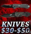 Knives $30 - $50