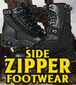 Zippered Duty Footwear