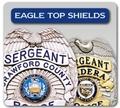 Shield Badges w/Eagle Tops