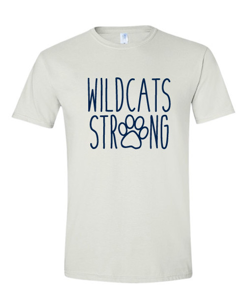 Canyon Pointe Elementary Wildcat Strong White T-shirt
