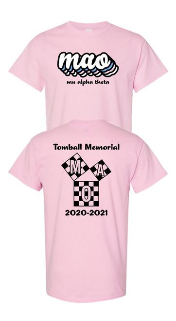 TMHS Mu Alpha Theta Club T-shirt