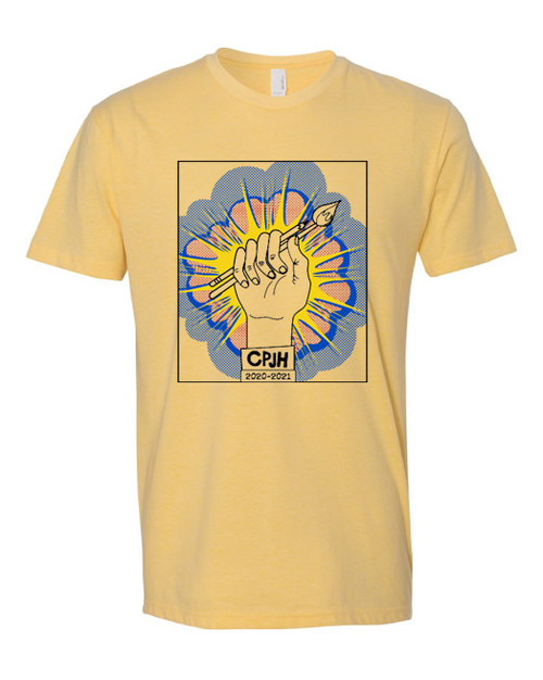 CPJH Art Banana Cream T-shirt