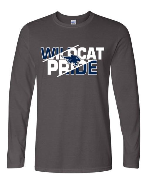 Wildcat Pride Grey Long Sleeve