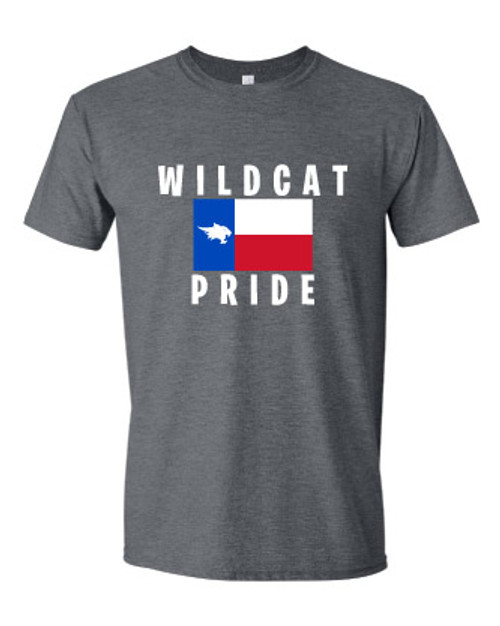 Wildcat Texas State Grey T-shirt