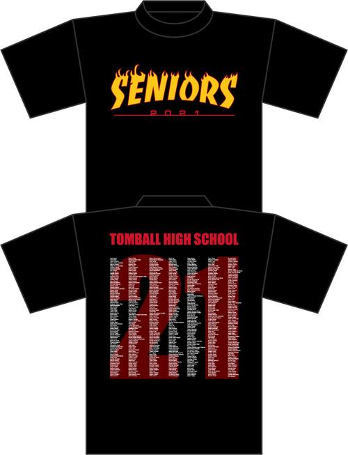 THS Seniors Black T-shirt