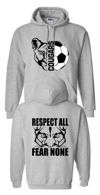 THS Cougars Soccer Hoodie