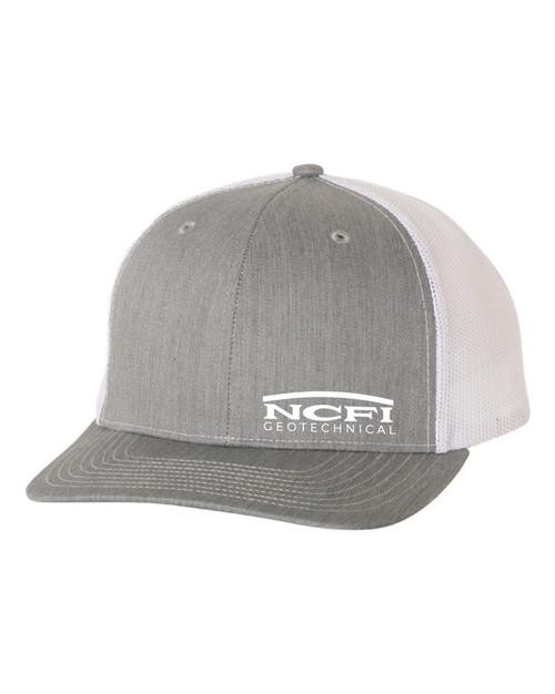 NCFI Geotechnical Cap Heather Grey/ White