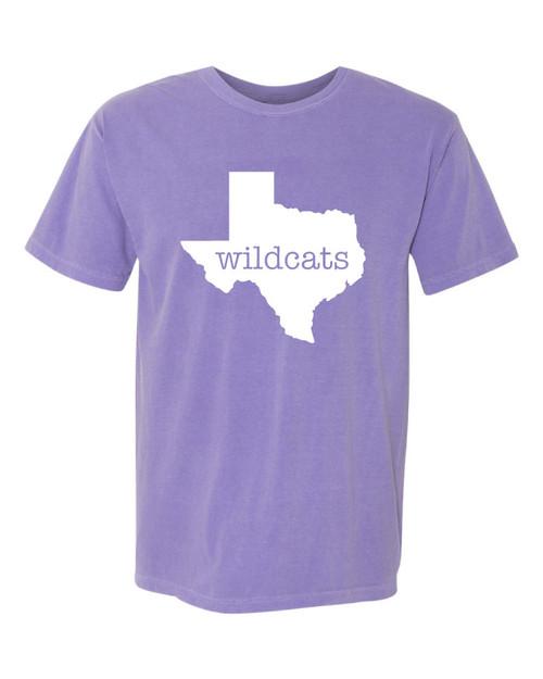 Wildcats Violet Comfort Color T-shirt