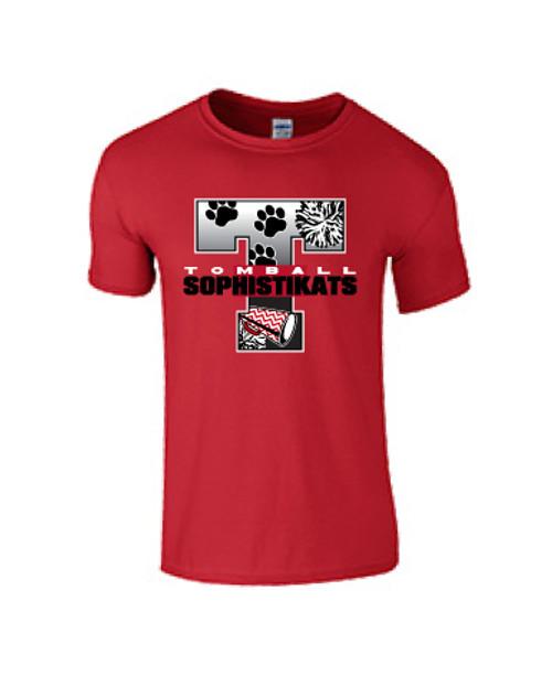 Tomball Sophistikats T-shirt