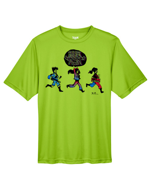 TIS Rock and Run DRI FIT T-shirt