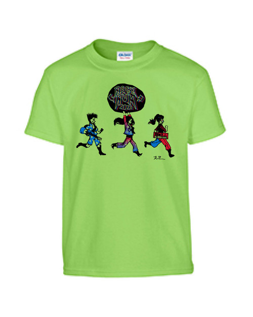 TIS Rock and Run Gildan 100% Cotton T-shirt