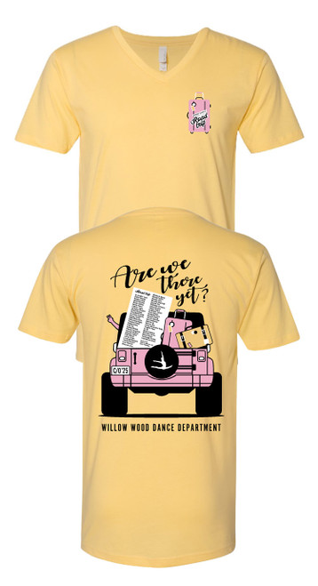WWJH Unisex V-neck T-shirt