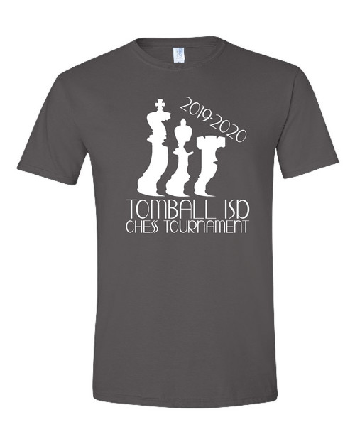 Tomball ISD Chess Tournament Soft Cotton T-shirt