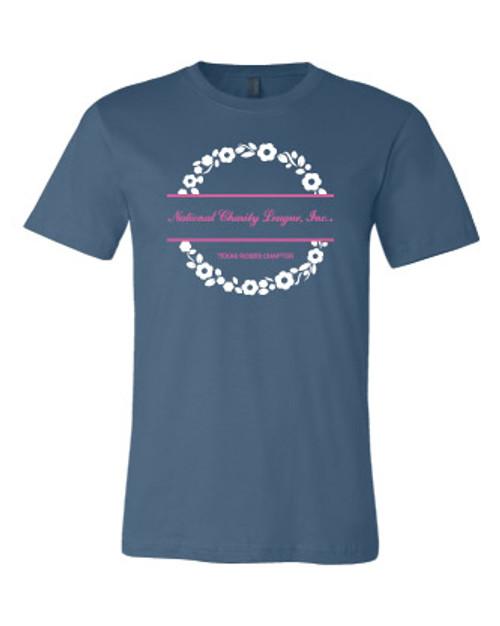 NCL Rose BELLA Steel Blue Unisex T-shirt