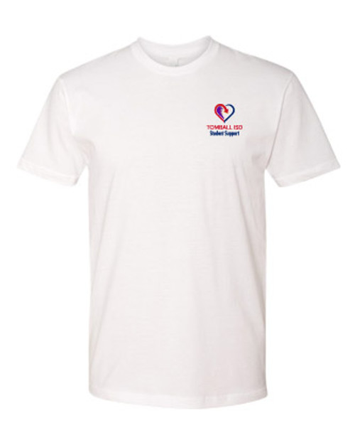 TISD Student Support White T-shirt
