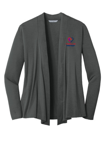 TISD Student Support Open Concept Cardigan