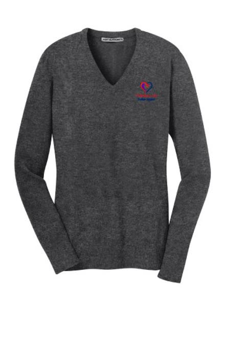 TISD Student Support Ladies V-neck Sweater