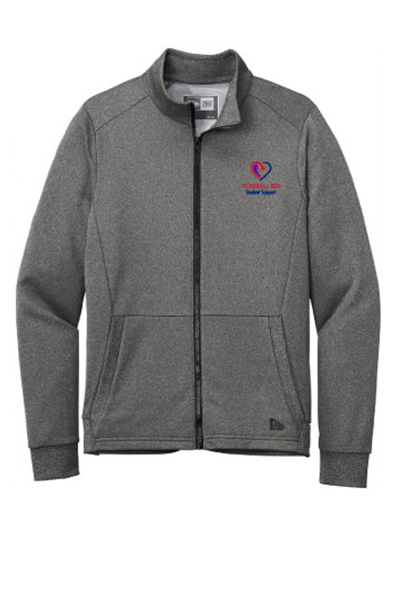 TISD Student Support New Era Performance Terry Full Zip Jacket