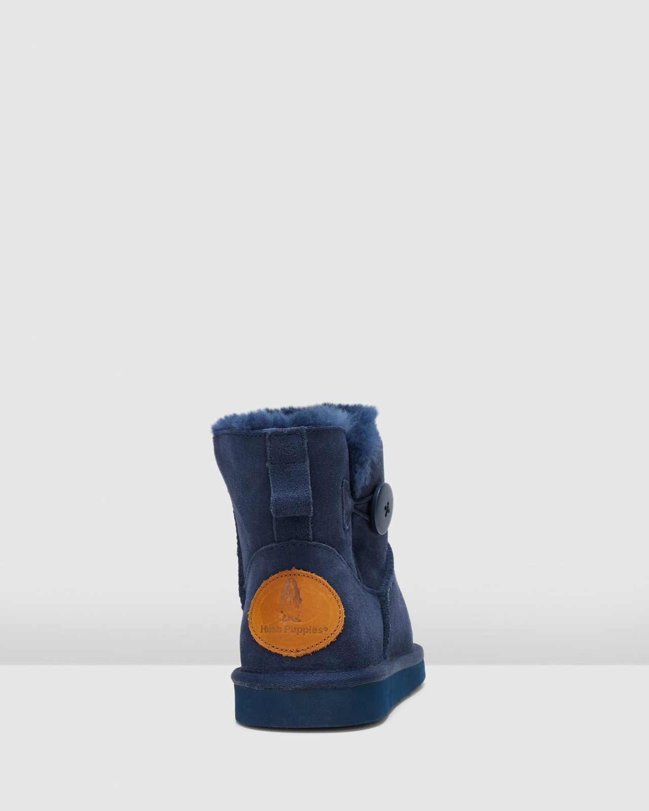 Hush Puppies  LOUNGE Midnight Suede