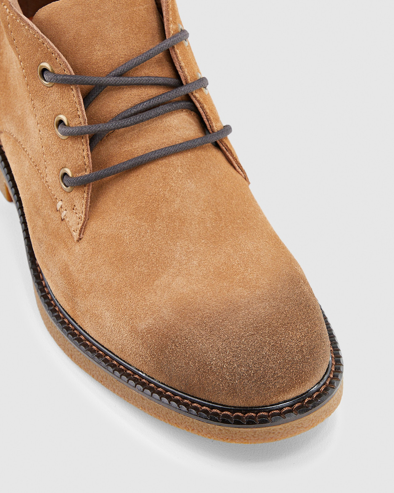 Hush Puppies  MICHIGAN Chestnut Suede