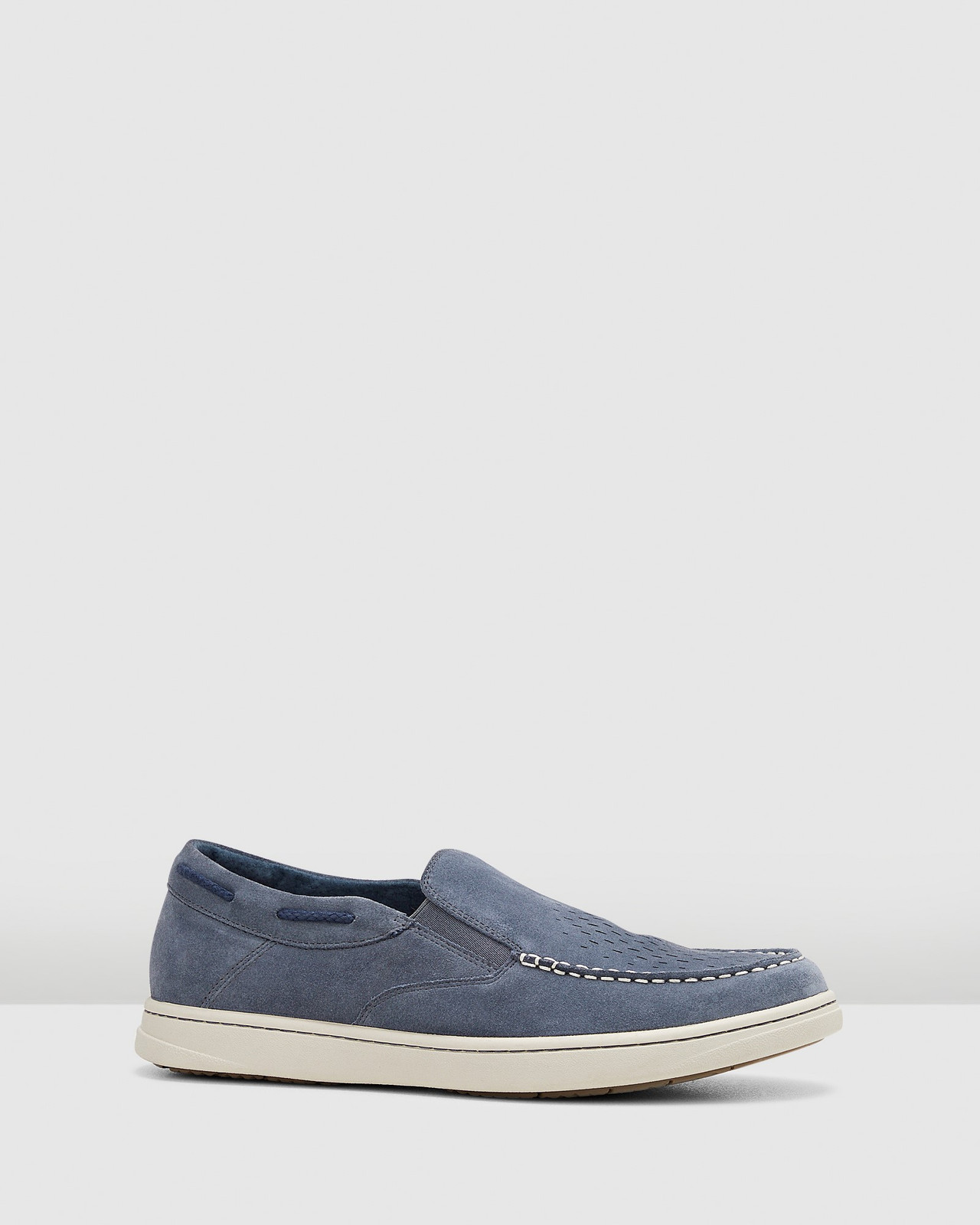 Hush Puppies  TYRONE Navy Suede