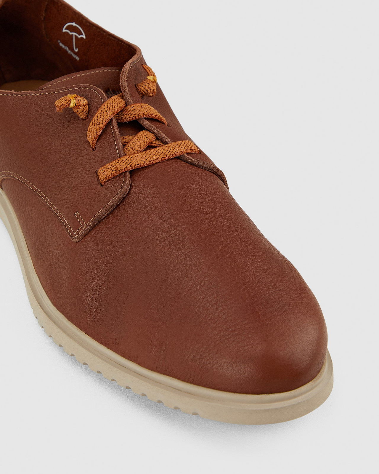 Hush Puppies  THE EVERYDAY LACEUP M Cognac Leather