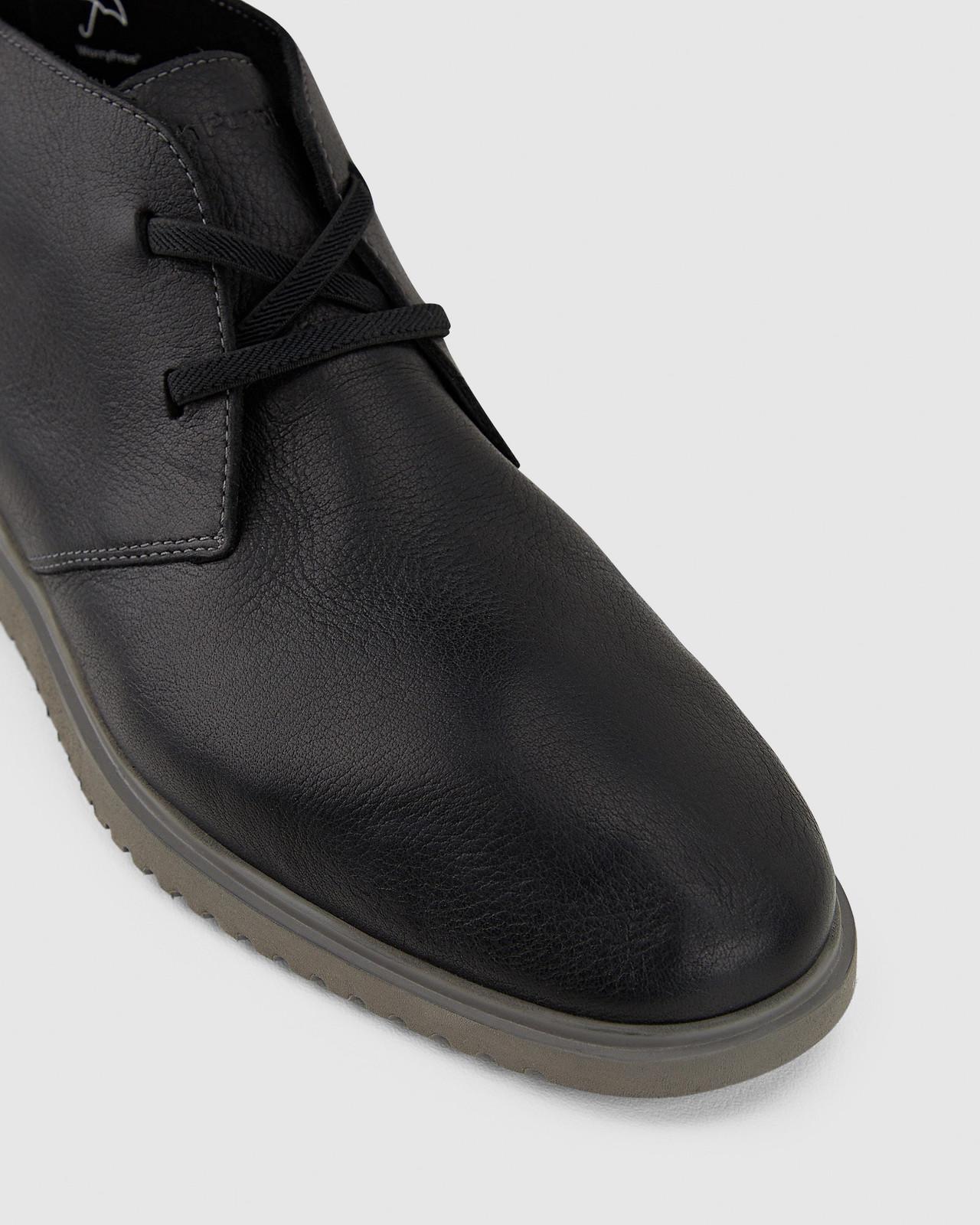 Hush Puppies  THE EVERYDAY CHUKKA M Black Leather