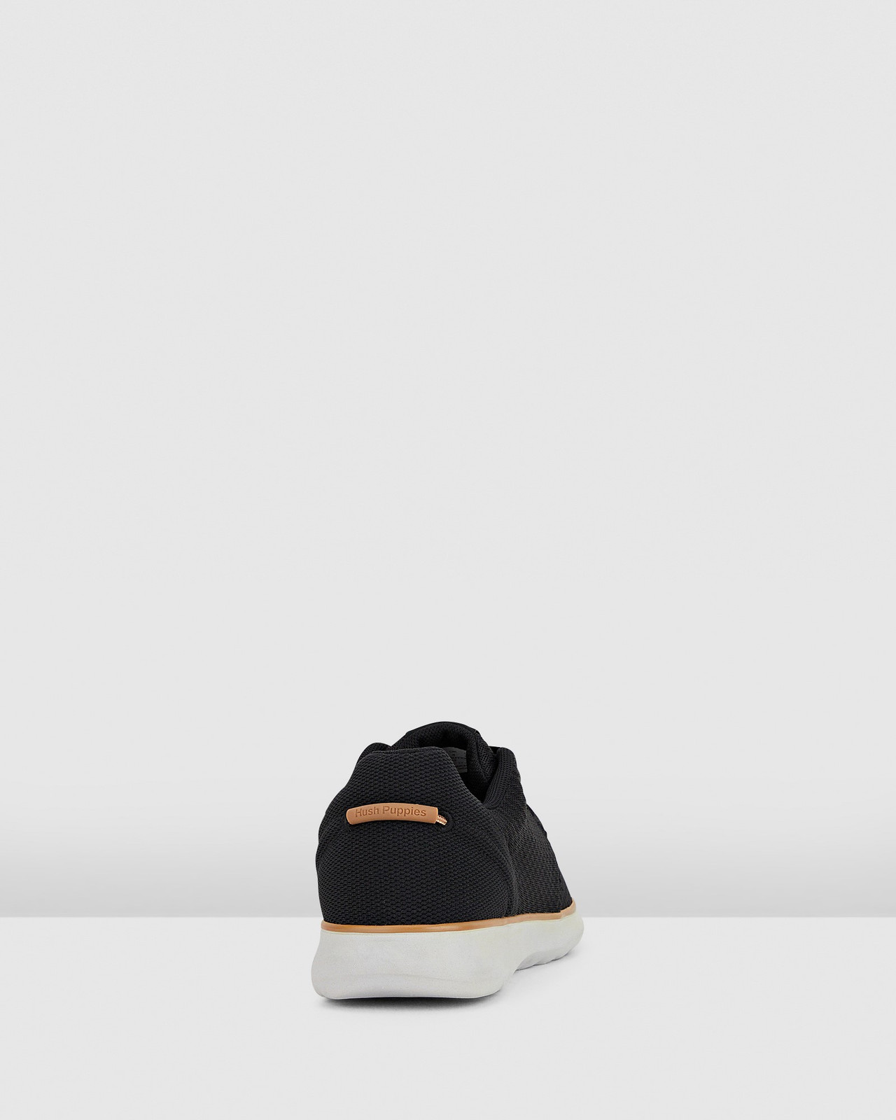 Hush Puppies  THE GOOD LACEUP M Black Textile