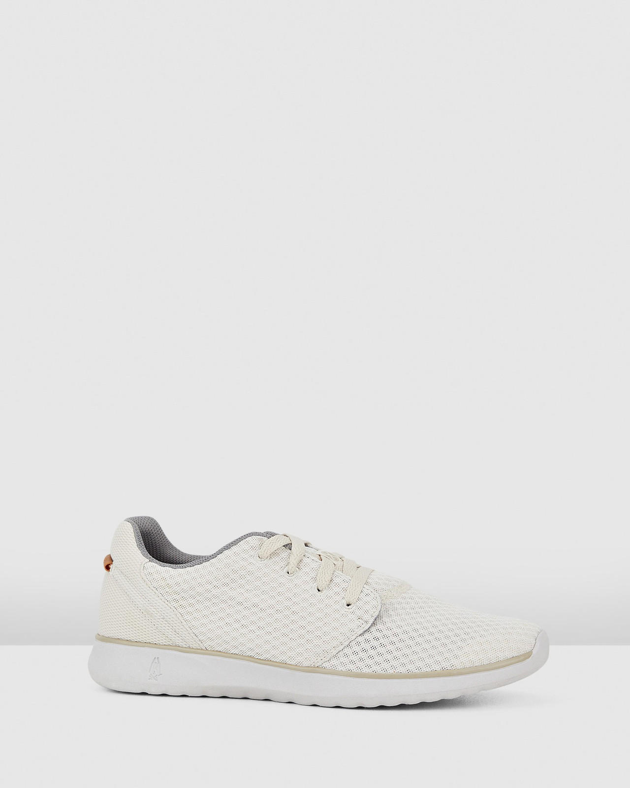 Hush Puppies  THE GOOD LACEUP M Light Stone Textile