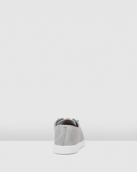 Hush Puppies The Everyday Laceup W Vapor Grey Leather