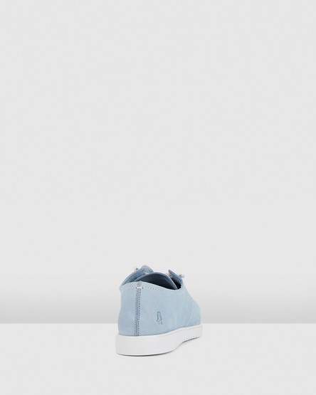 Hush Puppies The Everyday Laceup W Blue Dusk Nubuck