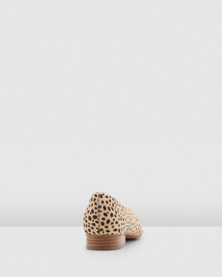 Hush Puppies Solana Tan Spotted Leopard