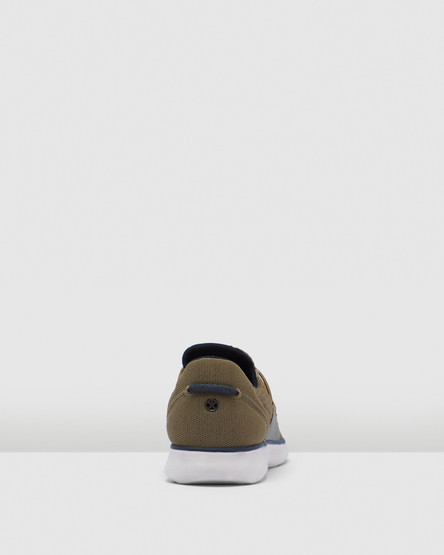 Hush Puppies The Good Bungee M Olive Textile