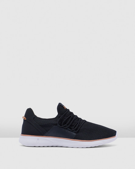 Hush Puppies The Good Bungee M Black Textile