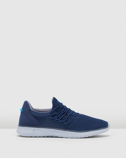 Hush Puppies The Good Bungee M Navy Textile