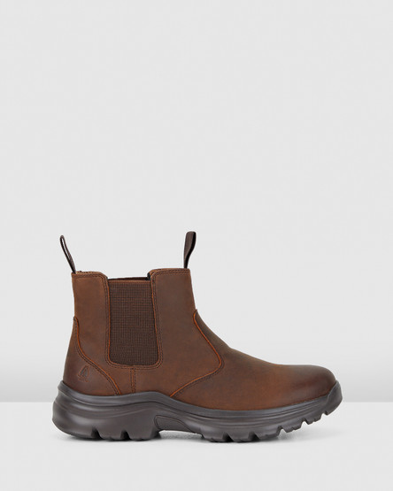 Hush Puppies Ascend - Womens Brown