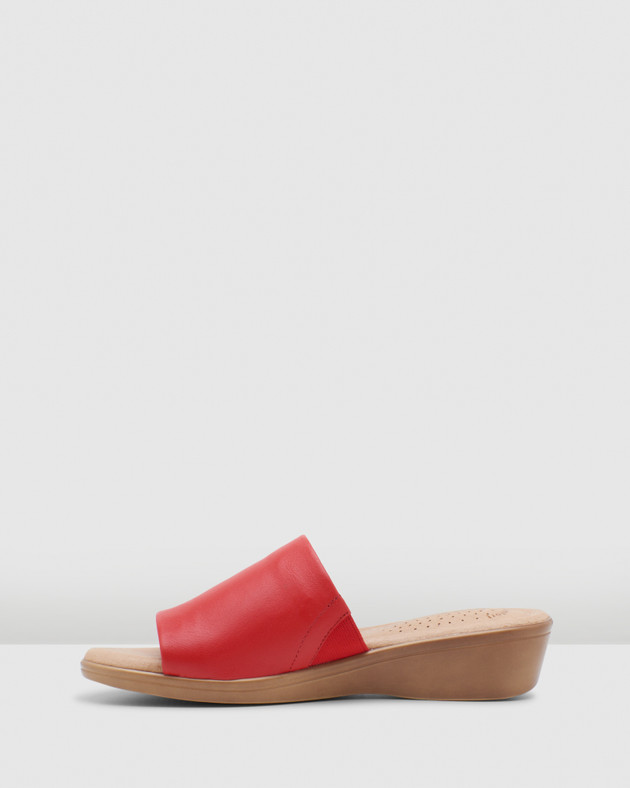 Hush Puppies Womens Coco Red Maple