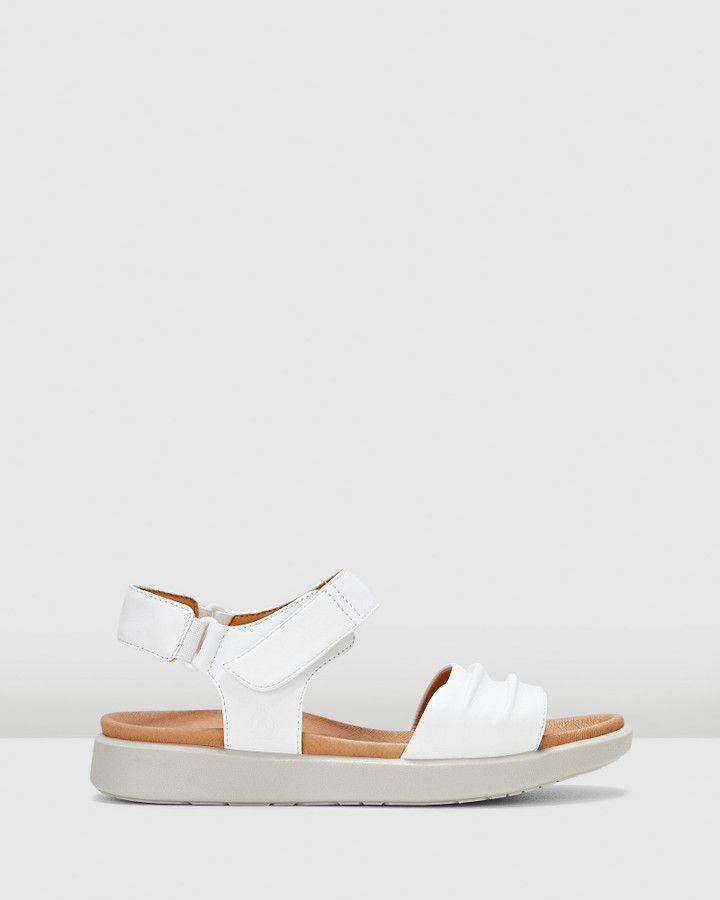Hush Puppies Mala White